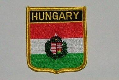 Wappenaufnäher Hungary Ungarn
