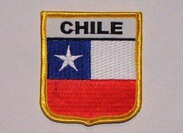 Wappenaufnäher Chile