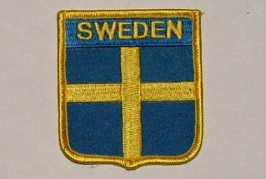Wappenaufnäher Sweden Schweden