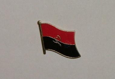 Pin Angola 20 x 17 mm
