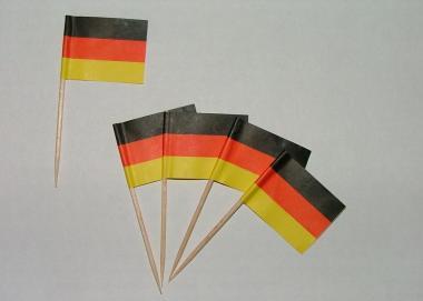 Flaggen Zahnstocher Deutschland VE=50