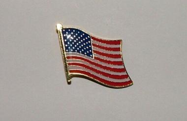 Pin USA 20 x 17 mm