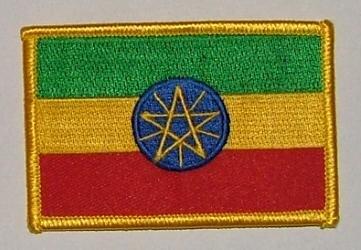Aufnäher Äthiopien