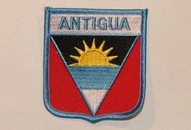 Wappenaufnäher Antigua