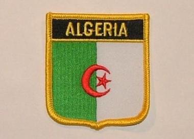Wappenaufnäher Algerien Algeria