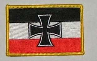 Aufnäher Gösch Kriegsmarine