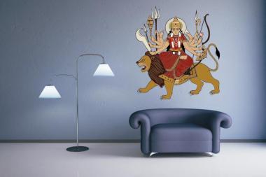 Wandtattoo Durga Motiv Nr. 1