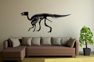 Wandtattoo Edmontosaurus Skelett