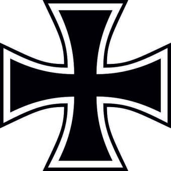 Aufkleber Eisernes Kreuz