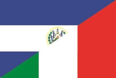 Aufkleber El Salvador-Italien