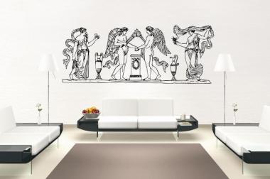 Wandtattoo Engel Fresko Antik Motiv Nr. 1