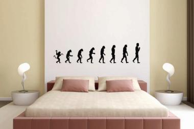 Wandtattoo Evolution