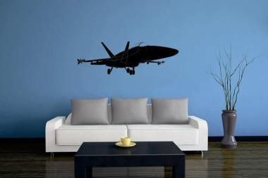 Wandtattoo F-18 Hornet