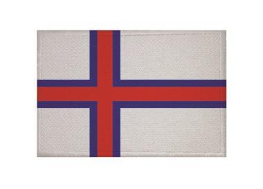 Aufnäher Patch Färöer Inseln 9 x 6 cm