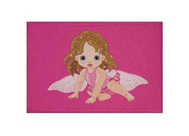 Aufnäher Patch Fee Motiv Nr. 2 Fairy 9 x 6 cm