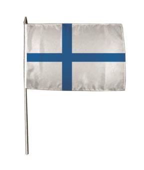 Stockflagge Finnland 30 x 45 cm
