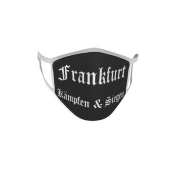 Gesichtsmaske Behelfsmaske Mundschutz Frankfurt Kämpfen & Siegen L