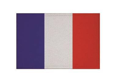 Aufnäher Patch Frankreich 9 x 6 cm