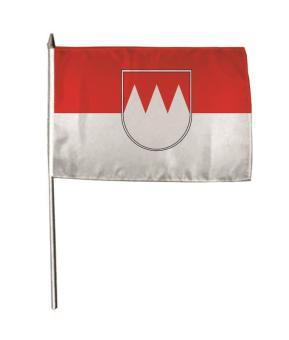 Stockflagge Franken 30 x 45 cm