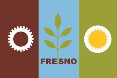 Aufkleber Fresno City Kalifornien