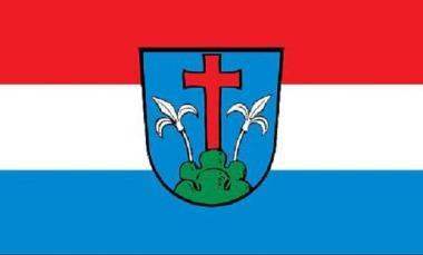 Flagge Friedberg ( Bayern )