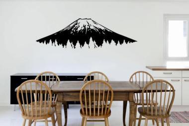 Wandtattoo Fujiyama