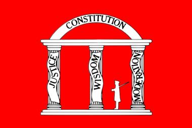 Flagge Georgia 1861