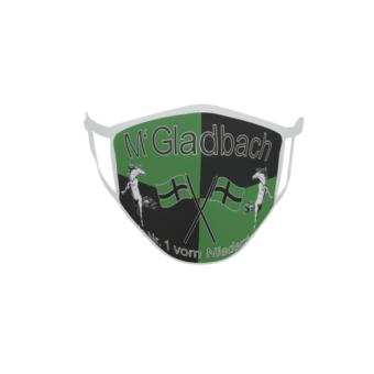 Gesichtsmaske Behelfsmaske Mundschutz Gladbach Nr. 1 vom Niederrhein L