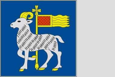 Flagge Gotland 120 x 120 cm
