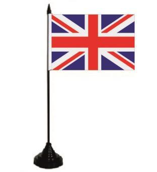 Tischflagge Grossbritannien 10 x 15 cm