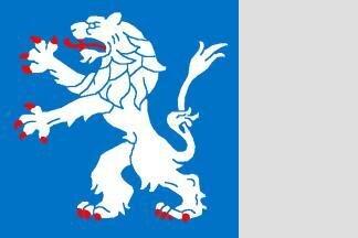 Flagge Halland 120 x 120 cm
