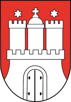 Aufkleber Hamburg Wappen