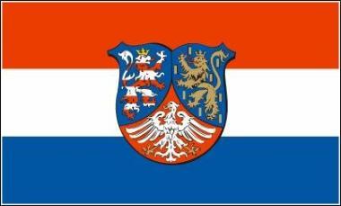 Fahne Hessen-Nassau 90 x 150 cm