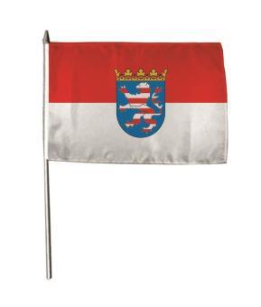 Stockflagge Hessen 30 x 45 cm