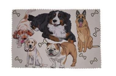 Glasreinigungstuch Hunde