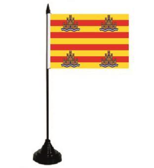 Tischflagge Ibiza 10 x 15 cm
