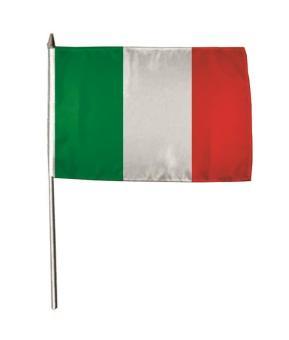 Stockflagge Italien 30 x 45 cm