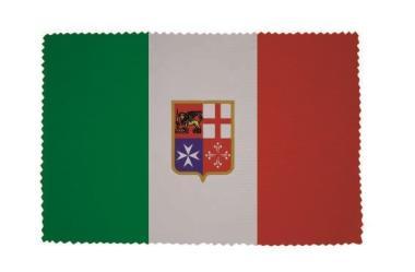 Glasreinigungstuch Italien mit Wappen