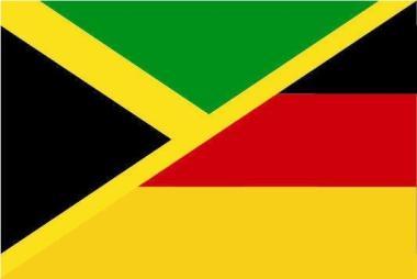 Flagge Jamaika - Deutschland