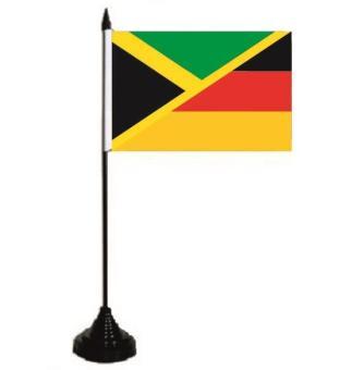 Tischflagge Jamaika - Deutschland 10 x 15 cm