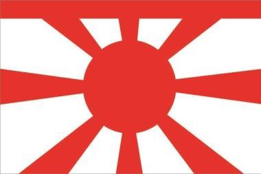 Flagge Japan Vize Admiral