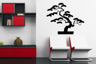 Wandtattoo Japanischer Baum