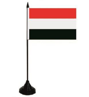 Tischflagge Jemen 10 x 15 cm