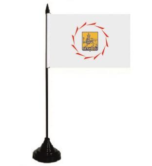 Tischflagge Jerevan 10 x 15 cm