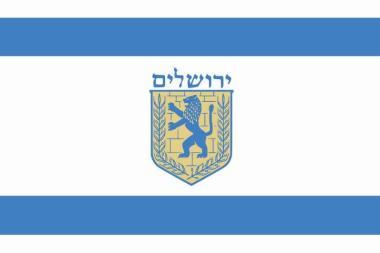 Flagge Jerusalem