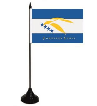 Tischflagge Johnston Atoll 10 x 15 cm