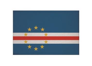 Aufnäher Patch Kap Verde 9 x 6 cm