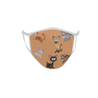 Gesichtsmaske Behelfsmaske Mundschutz Katzen