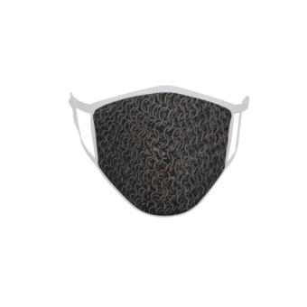 Gesichtsmaske Behelfsmaske Mundschutz Kettenhemd
