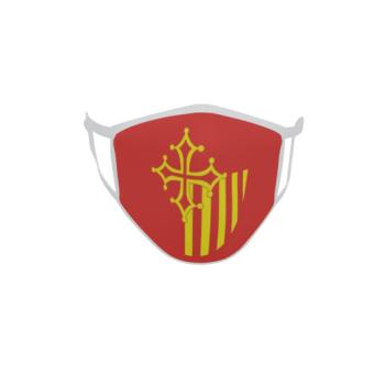 Gesichtsmaske Behelfsmaske Mundschutz Languedoc Roussillon